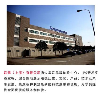 上海联想考察
