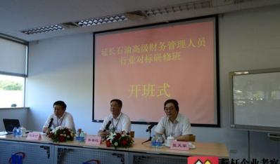 陕西延长石油集团公司高级财务管理人员行业对标