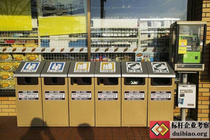 去日本考察垃圾分类