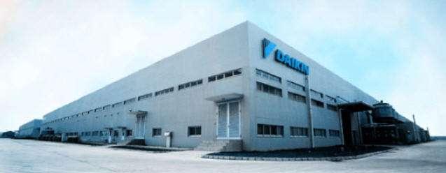 参观大金空调 精益生产改善及现场品质管理